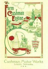 The Farm Cushman Engine Information Book Gas Motor