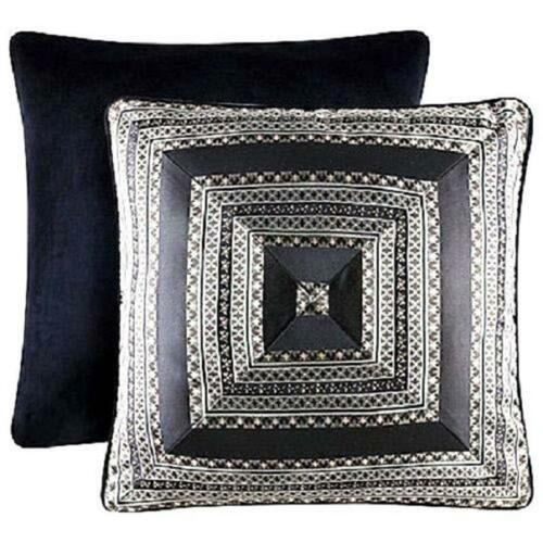 Queen New York ONYX Euro Pillow Sham 26 * 26 in J NEW