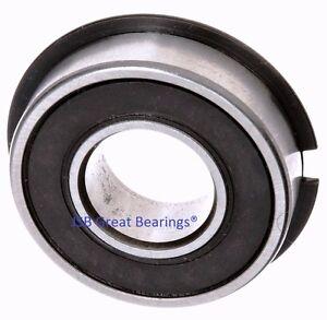 Qty 1 6204 2rs nr seals bearing w snap ring ball for 6908 bearing