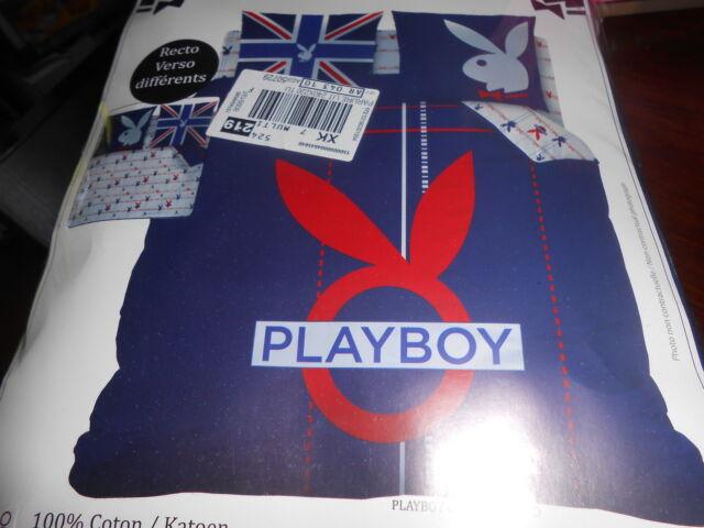 Housse De Couette 220x240 Playboy Underground Ebay