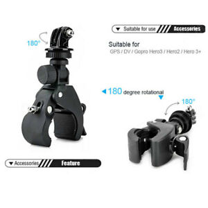 For-Gopro-7-6-5-4-Accessory-Bicycle-Motorcycle-Handlebar-Tripod-Mount-Holder-Set