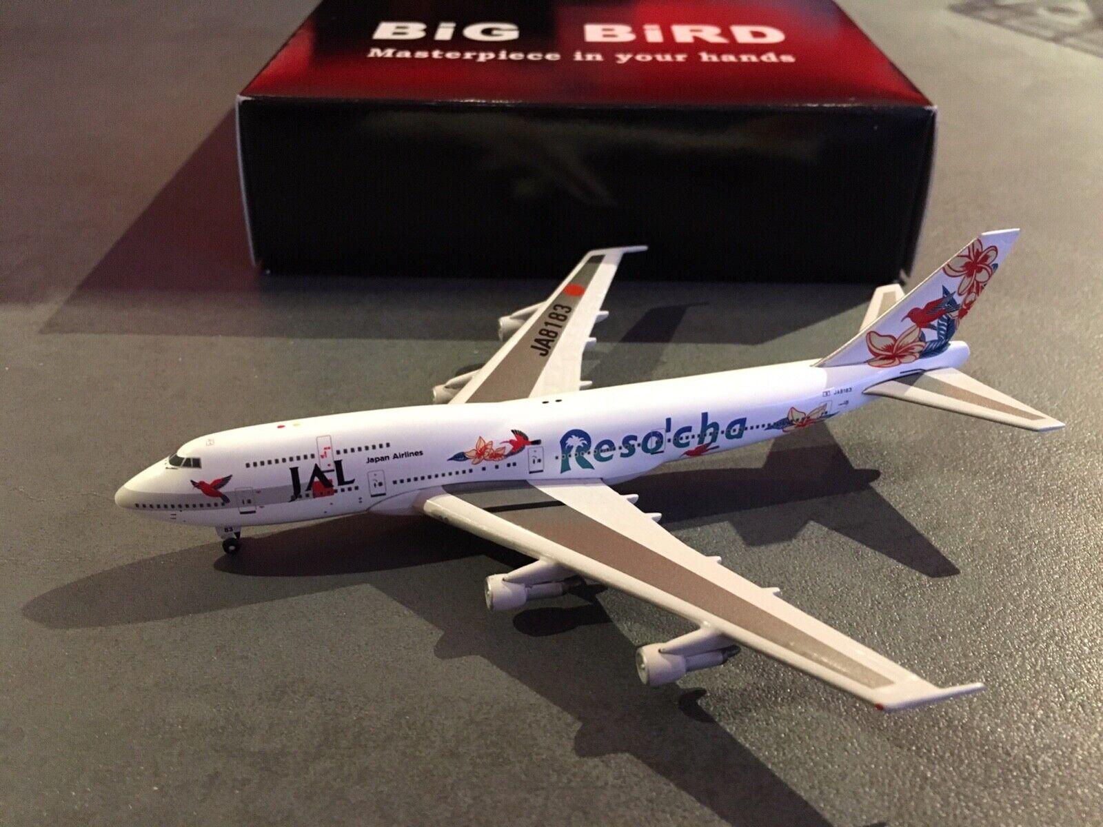 5 Stars 1 500 - JAL Japan Airlines - Boeing 747-346 - Resocha Blau