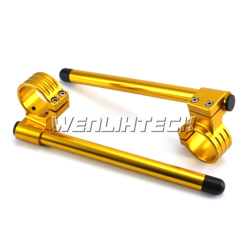 50MM Motorcycle High Lift Clip Ons On Handlebar For Suzuki GSXR600 2004-2011 HGG