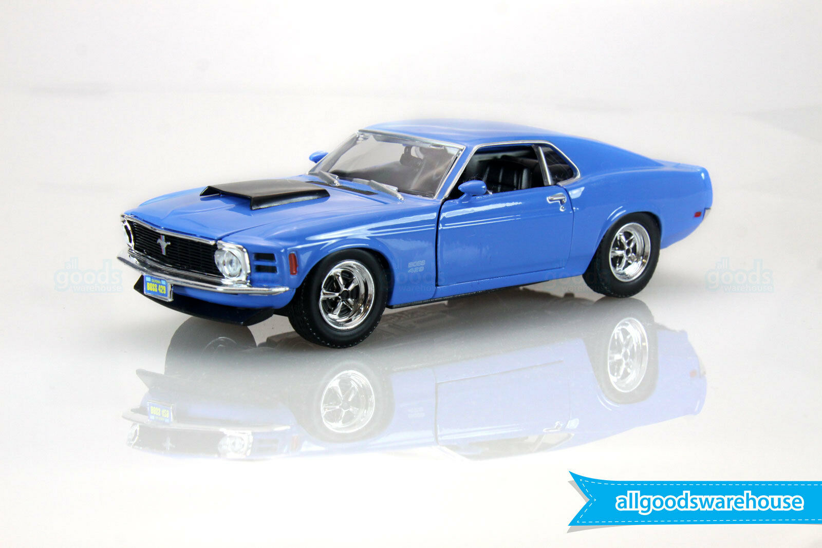 1970 Ford Mustang Boss 429 American Classic 1 24 scale die-cast model car