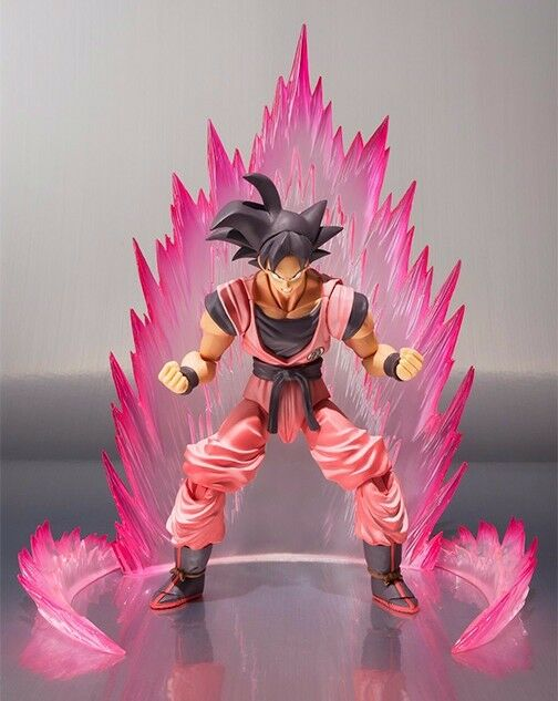 S. H. Figuarts Dragon Ball Z Son Goku Kaiohken Ver Figura Bandai Nuevo de Japón