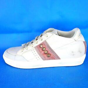 Sneaker Schuhe Crown Leder 319 Top Beige 37 Damen Neu Np Low Leather Country 41 qfwCHxHIv