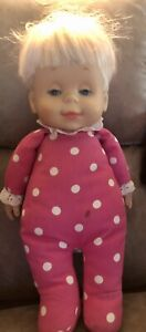 """DROWSY DOLL Mattel Classic Collection Talking Doll 15"""" - WORKS"""