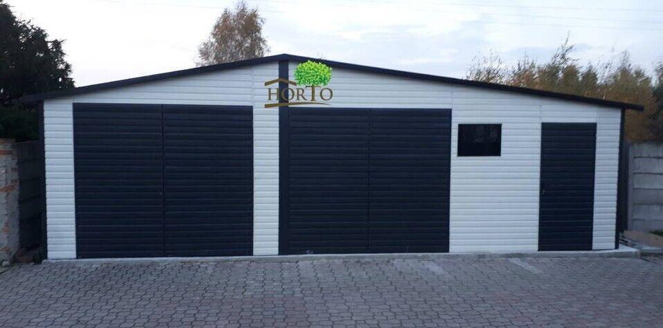 10X5 Blechgarage Fertiggarage Metallgarage GERÄTESCHUPPEN Gartenhäuser Container