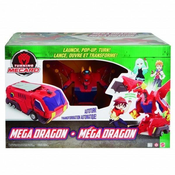 Nun mecard mega - drachen - roboter für spielzeug von mattel