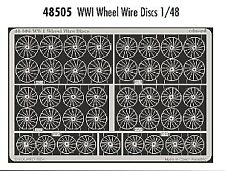 Eduard Accessories 72439 WWI Wheel Wire Discs in 1:72