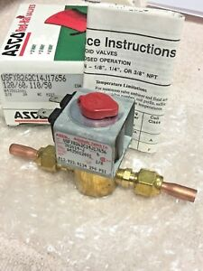 Solenoid-Valve-110V-1-4-Male-Flare-or-For-1-4-034-O-D-Tubing-Refrigeration-A-C
