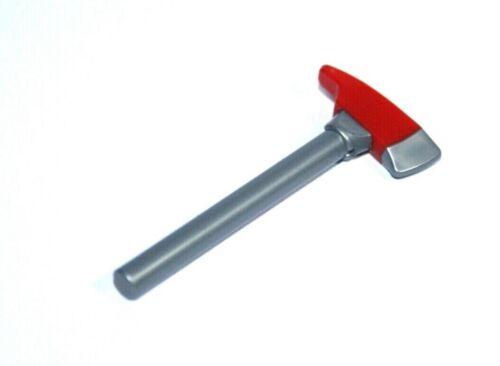 langer Stiel 1x LEGO® Axt mit Hackspitze Feuerwehr 39802pb01 NEU Rot//Silber