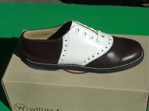 Maroon-and-white-reverse-Saddle-Shoes-by-Willits-NOS