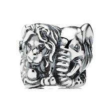 New Authentic Pandora Charm 791360 Safari Animal Kingdom Bead Box Included
