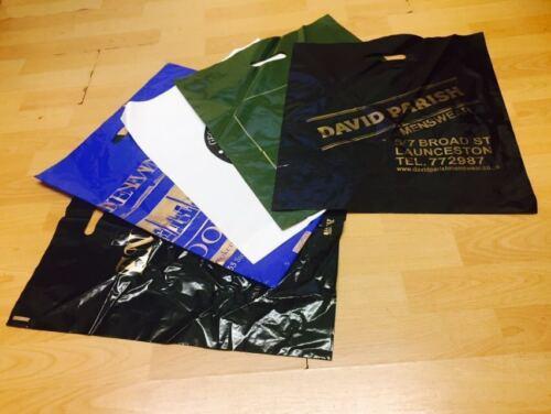 "Misprinted Plastic Strong Fashion Boutique Shop Bags 10 Kg/Box 22"" x 18"" x 3"""