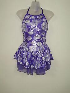 8-10 Costumes Winter Sports Skate/tap/dance Dress Girls Med