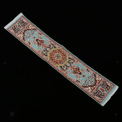 1:12 Dollhouse Carpet Rug Footcloth Furniture for Any Room Decoration Red