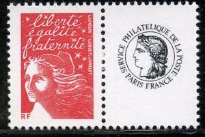 SystéMatique Timbre Personnalise N° 3587a ** Type Marianne Du 14 Juillet Logo Ceres Cote 5 €