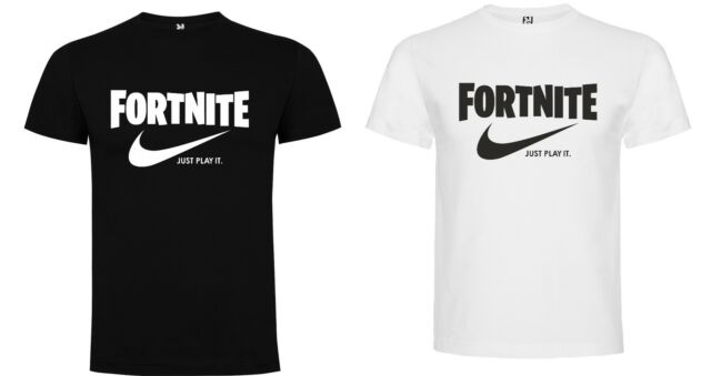 CAMISETA FORNITE Just play it