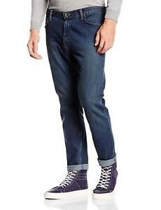 Conique Indigo Conique Jeans Usés V46 Coupe Bleu Vans Portant qA0XPqx