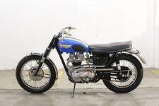 1966 TRIUMPH TROPHY TR6 DESERT RACER VINTAGE MOTORCYCLE POSTER PRINT 24x36