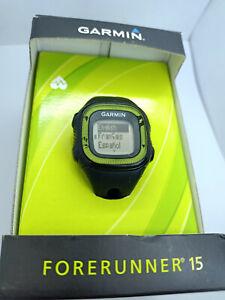 Garmin Forerunner 15 Running Activity Steps Watch & Heart Rate Monitor - Green