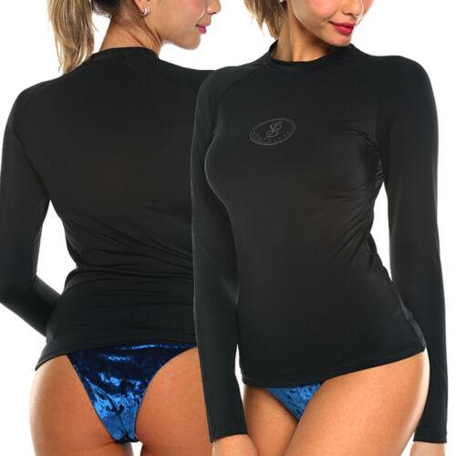 Swim Shirt Swimwear Bikini Bottom pants NEW Women Men Long Sleeve Tops UV SPF40
