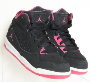 buy online 6330e 8b137 Nike Air Jordan Flight 12 C Black Pink 630610-060 basketball ...