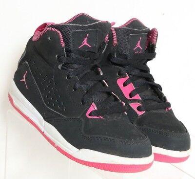 Nike Air Jordan Flight 12 C Black Pink