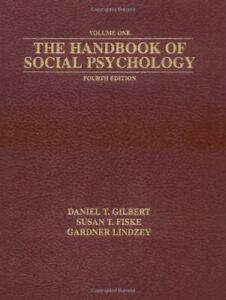 The Handbook of Social Psychology, Fourth Edition (2 Volume Set)