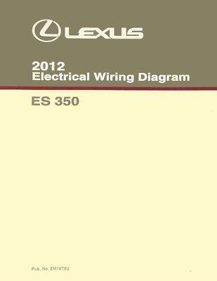 2010 Lexus ES 350 Wiring Diagrams Schematics Layout Factory OEM