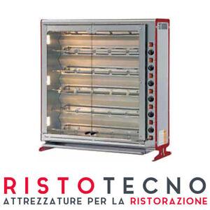 Girarrosto-a-gas-4-Spade-capacita-24-polli-Dim-cm-112x37x81-8H