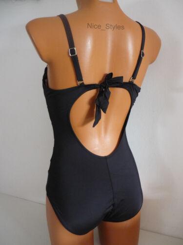 Netz Bandeau Monokini Bikini Badeanzug Push Up Transparent* XS-XL//34 36 38 40 42