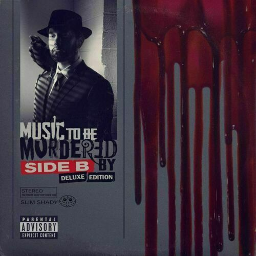 2 CD SET EMINEM MUSIC TO BE MURDERED BY - SIDE B DELUXE EDITION BRAND NEW SEALED