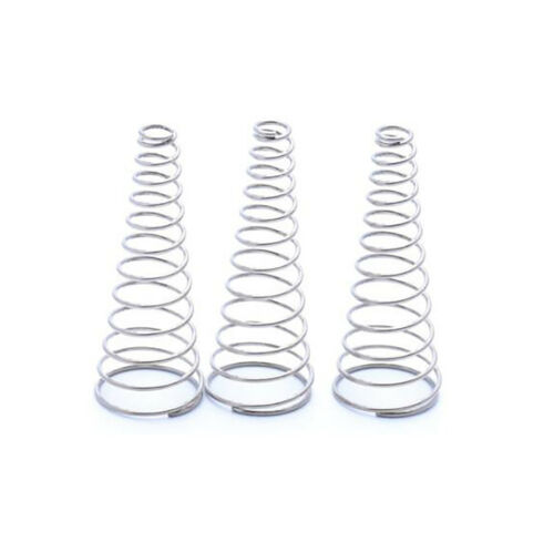 Dia 0.4~2mm A2 Stainless Conical Cone Compression Springs Taper Pressure Spring