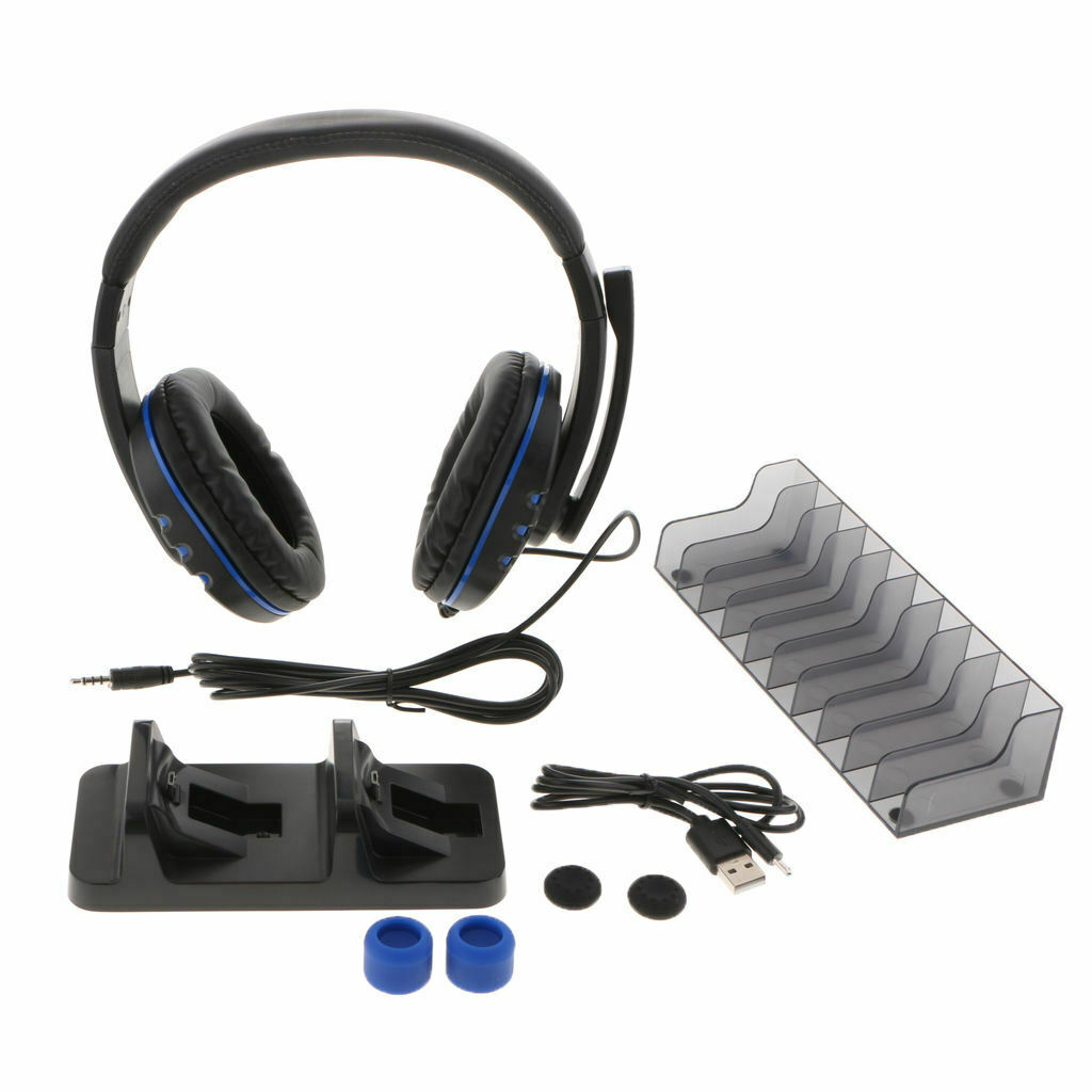 Charging Station+Headset+Disc Stroage Holder+Cable+Cover For /Pro/Slim