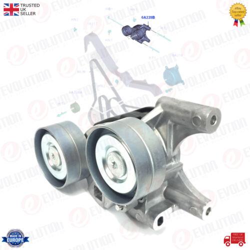 Ventilateur Tendeur De Courroie Poulie Ford Transit MK7 MK8//TRANSIT CUSTOM 2.2 TDCi