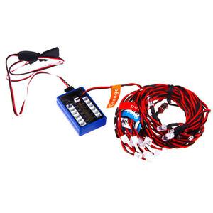 RC-Simulation-Flashing-Light-Realistic-Smart-System-12-LED-Kit-fo-1-10-Car-Truc