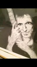 "Ronnie Wood ""Keith Richards"" from Rolling Stones Suite I with custom frame"