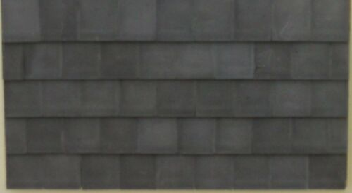 Small Dolls House 1//24th Scale Grey Roof Tiles