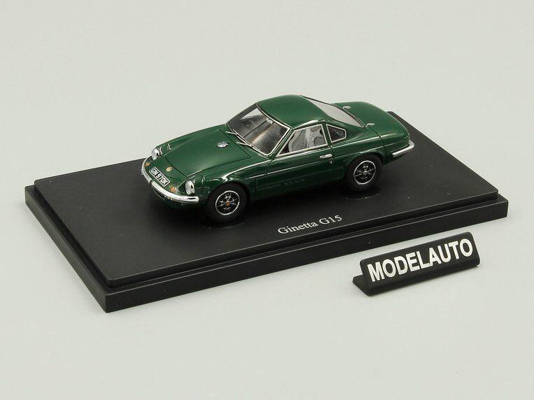 Autocult 1 43 ginetta g15, grüne, großbritannien, 1970 l.e.333