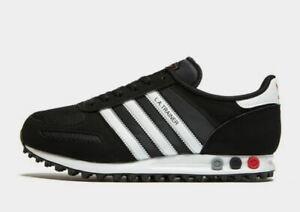 ADIDAS-Originals-LA-LOS-ANGELES-OG-Scarpe-Da-Ginnastica-Nero-e-Bianco-Men-039-s-shoes