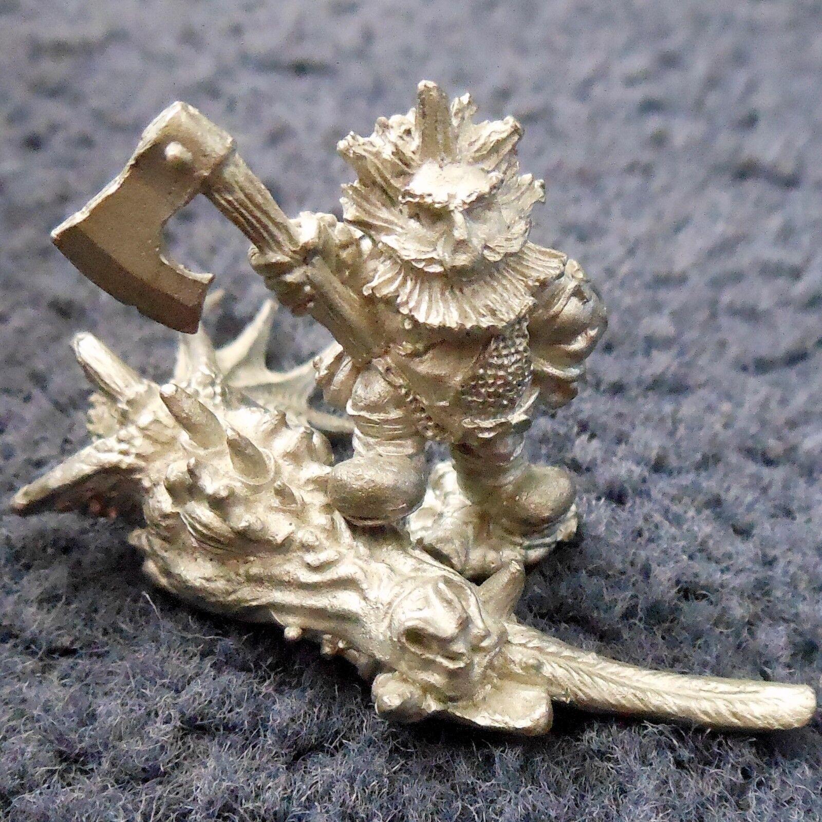 1987 DS9 Dwarf Dragon Slayer Citadel Dwarven Fighter Warhammer Army Berserker GW