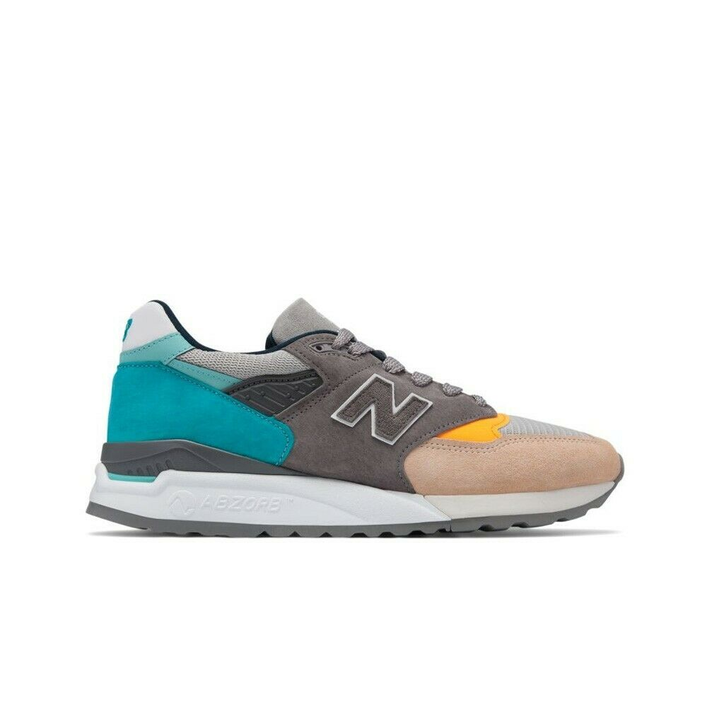 New New New Balance M998 Made in USA M998AWB (Grey bluee) Men's shoes 85dc6b