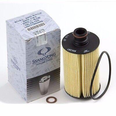 Oil Filter Oem Parts for Ssangyong KORANDO C Turismo Rexton Rodius Element Kit