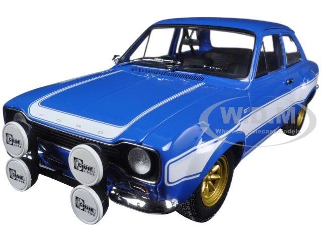 1970 FORD ESCORT I RS 1600 FAV blu LTD 504PC 1 18 BY MINICHAMPS 100688102