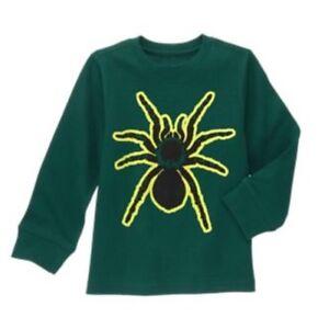 e6fedbfd7 NWt Gymboree Boys Glow In The Dark Long Sleeve Spider Shirt Mix N ...