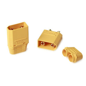 1-Pairs-Xt90-Battery-Connector-Set-4-5Mm-Male-Gold-Plated-Banana-Plug-FET-fr
