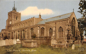R245057 The Parish Church. Diss. F. Frith. Postcard. 1965