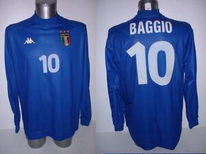 b347f40fa Image is loading Italy-Italia-BAGGIO-Kappa-Shirt-Jersey-Football-Soccer-